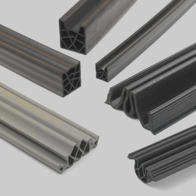 Custom designed extrusions and seals
